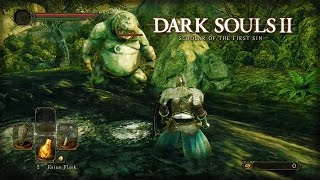 Dark Souls II: Scholar of the First Sin - Forest of Fallen Giants Official Gameplay