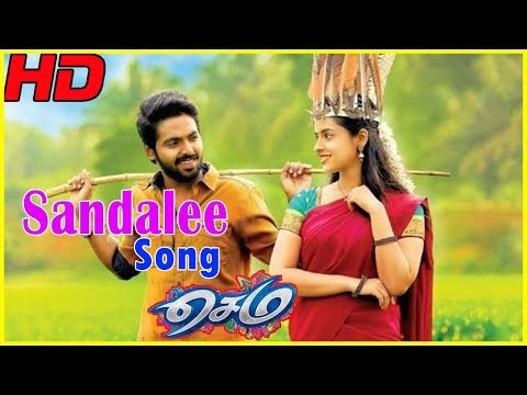 Sandalee Video Song | Sema Movie Scenes | GV Prakash asks Arthana to elope with him | Kovai Sarala