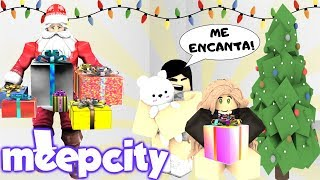 MEEPCITY CHRISTMAS NIGHT IN MY SCHOOL 🎄- ROBLOX