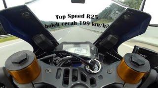 10  R25 Top Speed 2021