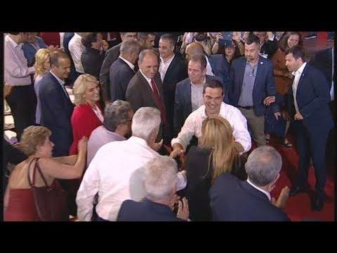 Κοζάνη: Θερμή υποδοχή στον πρωθυπουργό