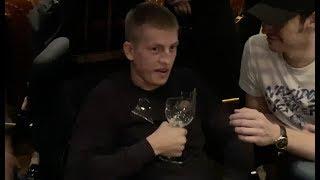 Муратаев заставил Щербакова из StandUp съесть стакан