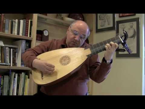 Allemande in D Major by WJ Lauffensteiner for Baroque Lute