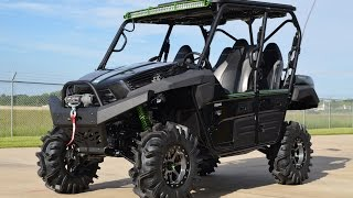 Custom 2015 Kawasaki Teryx4 in Super Black Loaded!