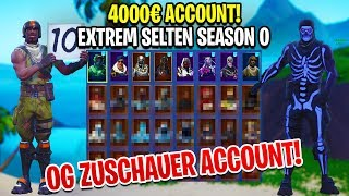 😱 I SHOW the OG SPIND from my ZUSCHAUER in Fortnite! Compte de plus de 4 000