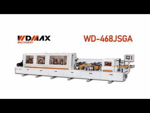 WD-468JSGA - кромкооблицовочный станок с двумя клеевыми узлами от WDMAX