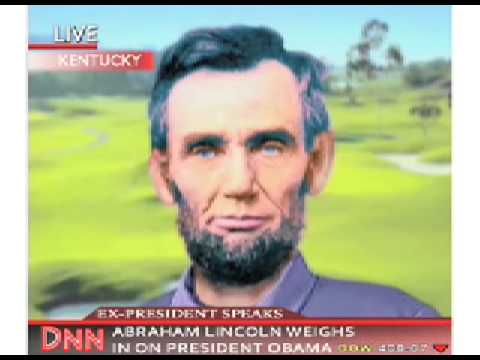 Abraham Lincoln Interview on Barack Obama - from iOwnTheWorld.com and AmericanThinker.com