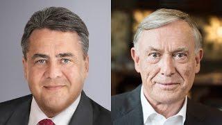 Sigmar Gabriel und Horst Köhler unterstützen Aktion Deutschland Hilft