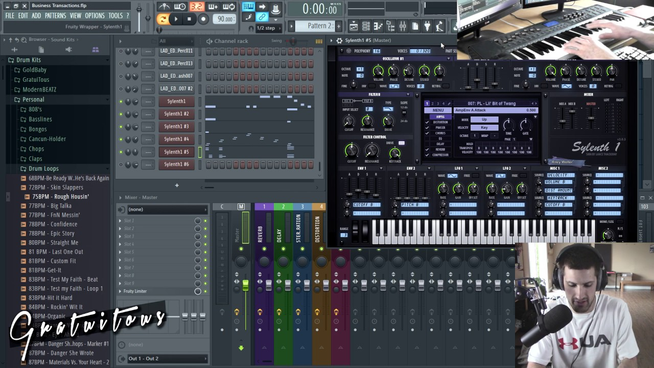 Free Sylenth1 Presets [Pads, Plucks, Synths, Leads, ARP, Basslines] -  GratuiTous - Persistence