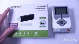 Netgear N150 And EV3 Intelligence Brick Compatability Test