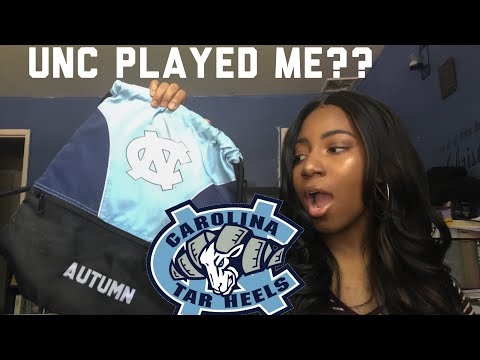 STORYTIME: MY DREAM SCHOOL PLAYED ME! | UNC Chapel Hill | 2018