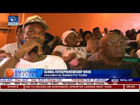 Channels Media Group Chairman On Youth Innovation Pt.2 |Business Morning|