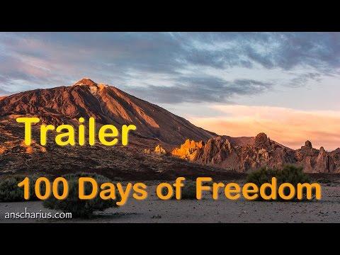100 Days of Freedom - Trailer - Mit dem Motorrad durch Europa (German)