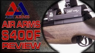 Air Arms S400F Superlite: Air Gun Shooting & Gun Review