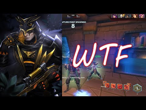 Paladins Strix Without Guns Gameplay   New Glitch   😂😂 ;-)