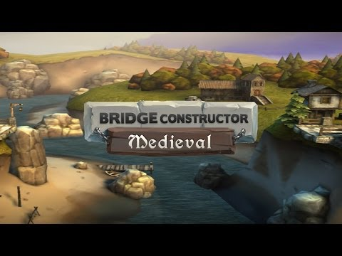 Bridge Constructor Medieval - Universal - HD (iOS / Android) Gameplay Trailer