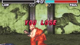 Tekken Advance (GBA) - Vizzed.com Play