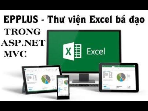 Hướng dẫn Xuất file Excel trong ASP NET MVC với EPPLUS và