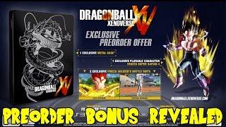 Dragon Ball Xenoverse: Super Saiyan 4 Vegeta Preorder Bonus, Europe Release Date & Collector Edition