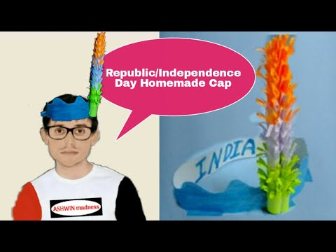 Cap for Independence Day | Tricolor | Republic Day Craft | Independence Day Craft | DIY Paper craft