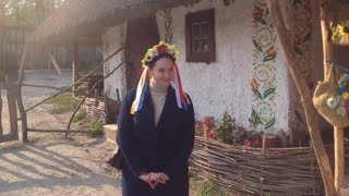 Выгуливаю вязаное пальто по Хортице