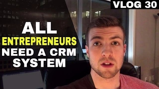 A CRM system is essential to success.