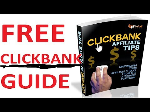 Clickbank Affiliate Marketing For Beginners | Free Clickbank Training Guide thumbnail