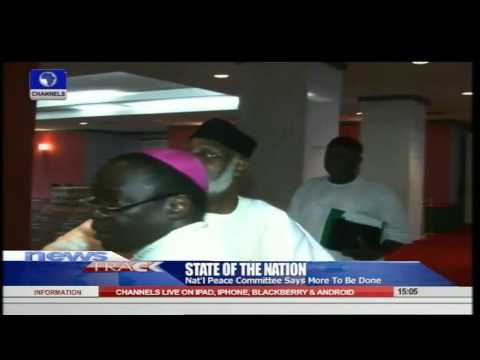 National Peace Committee Says More To Be Done 31/07/15