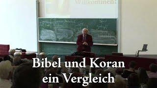 Prof. Peter Antes: Bibel und Koran - ein Vergleich 1/2
