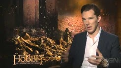 The Hobbit: The Desolation of Smaug - Martin Freeman and Benedict Cumberbatch Interview