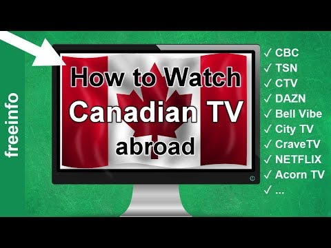 How Watch Canadian TV Abroad  Outside Of Canada (2020 Proof)