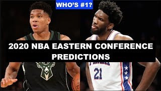 Predicting The 2019-20 NBA Eastern Conference Standings