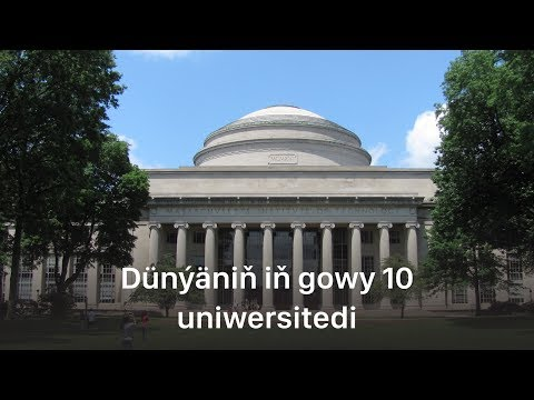 Dünýäniň Iň Gowy 10 Uniwersitedi | Muny Bilmek Gyzykly #1