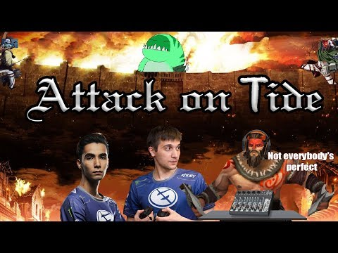 Dota 2: Arteezy - Attack on Tide Hunter | Raid Boss with Sumail and Soundboard Guy (Korvo) thumbnail