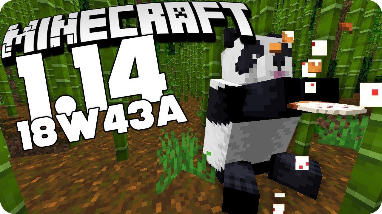 Pandas Crossbow Pillager Mehr Blocke U V M Minecraft 18w43b