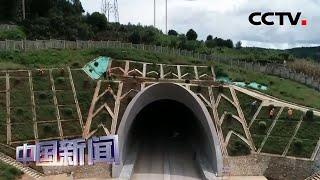 [中国新闻] 中老铁路和平隧道贯通   CCTV中文国际