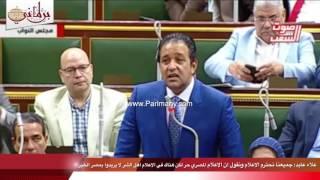بالفيديو .. علاء عابد: الإعلام المصرى حر لكن هناك أهل شر لا يريدون بمصر الخير