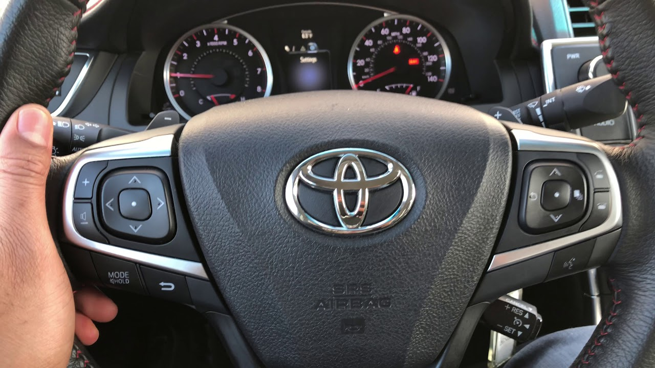 Toyota Camry Traction Control Turn On And Turn Off