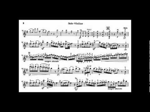 Beethoven, L van Romance no1 in G Opus 40