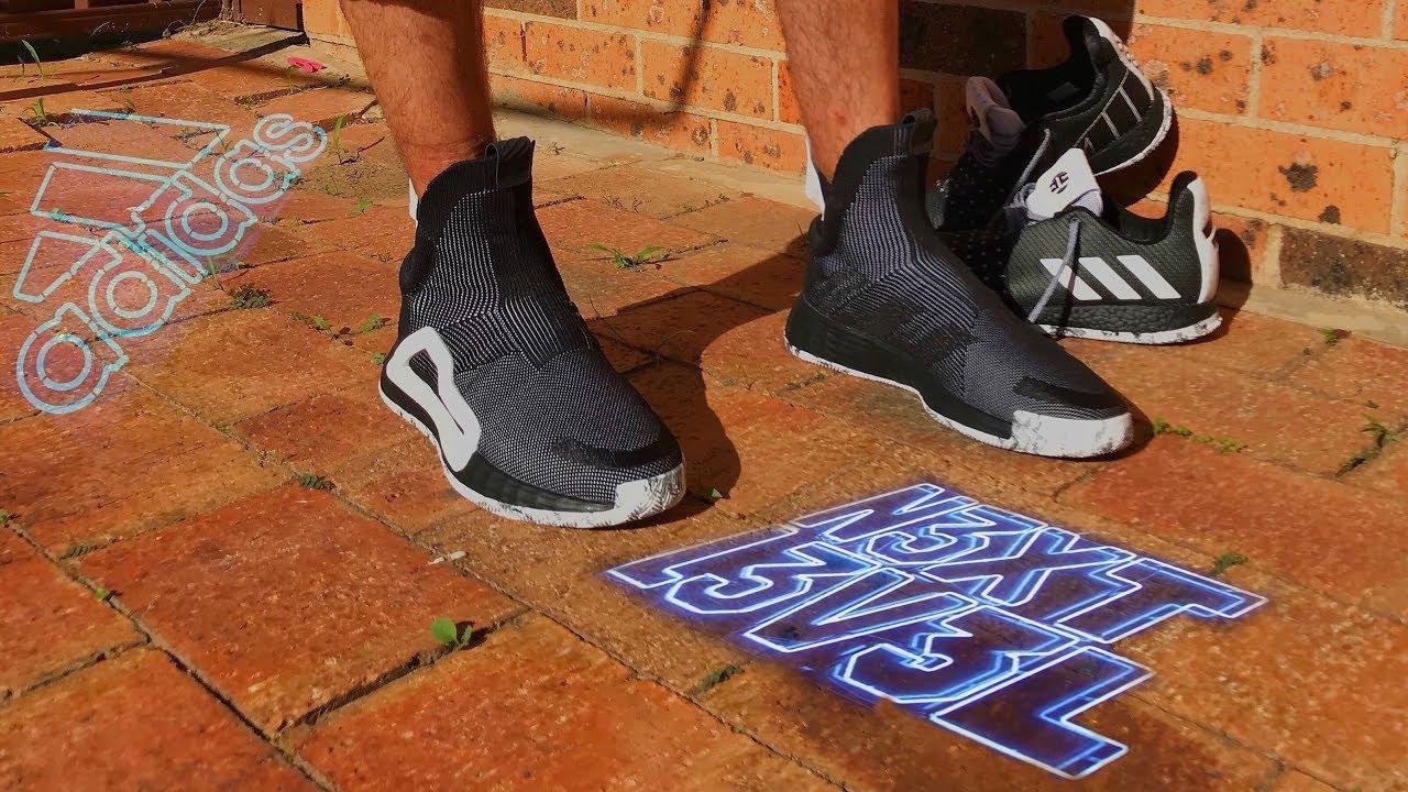 oleada servidor Sastre  Adidas N3XT L3V3L 2019 On Feet Review + UNboxing - YouTube
