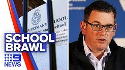 Coronavirus: Andrews government resists returning students to school | Nine News Australia