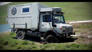 Traveling with a Unimog