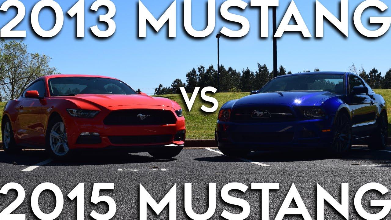 2017 Mustang V6 Vs