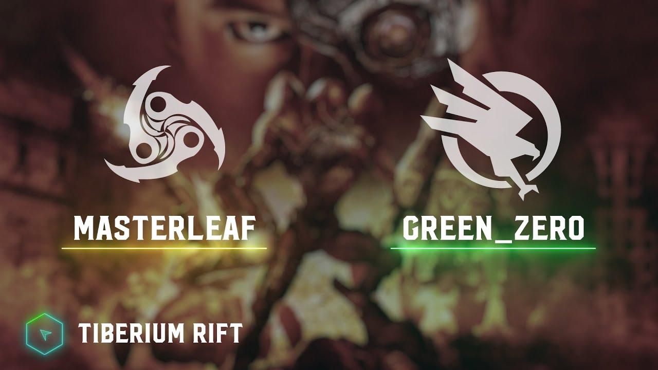 MasterLeaf(T59) vs Green_ZERO(GDI) - Tiberium Rift - Kane's Wrath