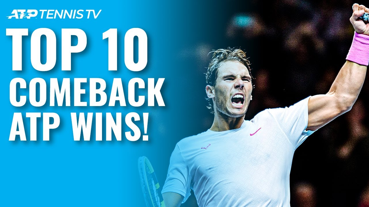 Top 10 ATP Tennis Comeback Wins! 🔄