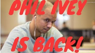 Where is Professional Poker Player Phil Ivey??
