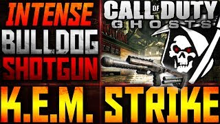 Cod: Ghosts - Fast Bulldog Shotgun Kem Strike!