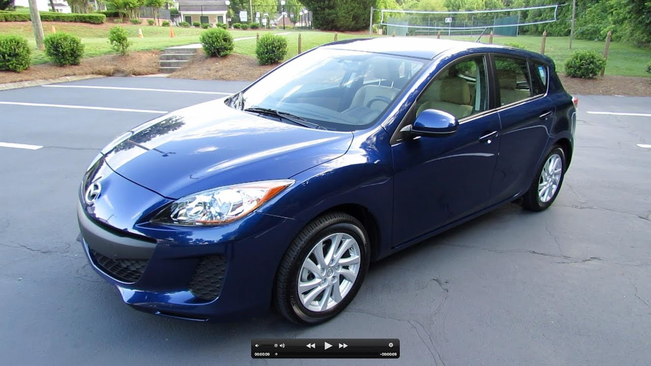 2012 Mazda3 Skyactiv Hatchback 6 Spd Start Up Exhaust Test Drive
