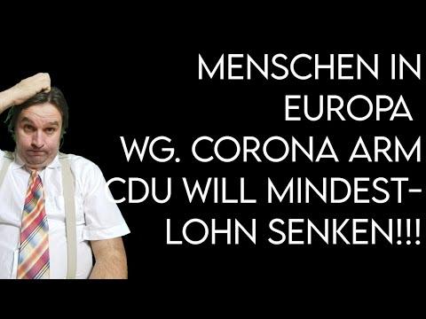 Menschen in EU versinken in Armut - CDU will Mindestlohn senken