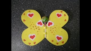★ How to make a card with chupa-chups do it yourself. Beautiful Valentine with hearts